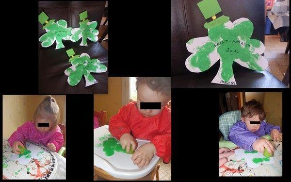 Nos trèfles pour la Saint-Patrick
