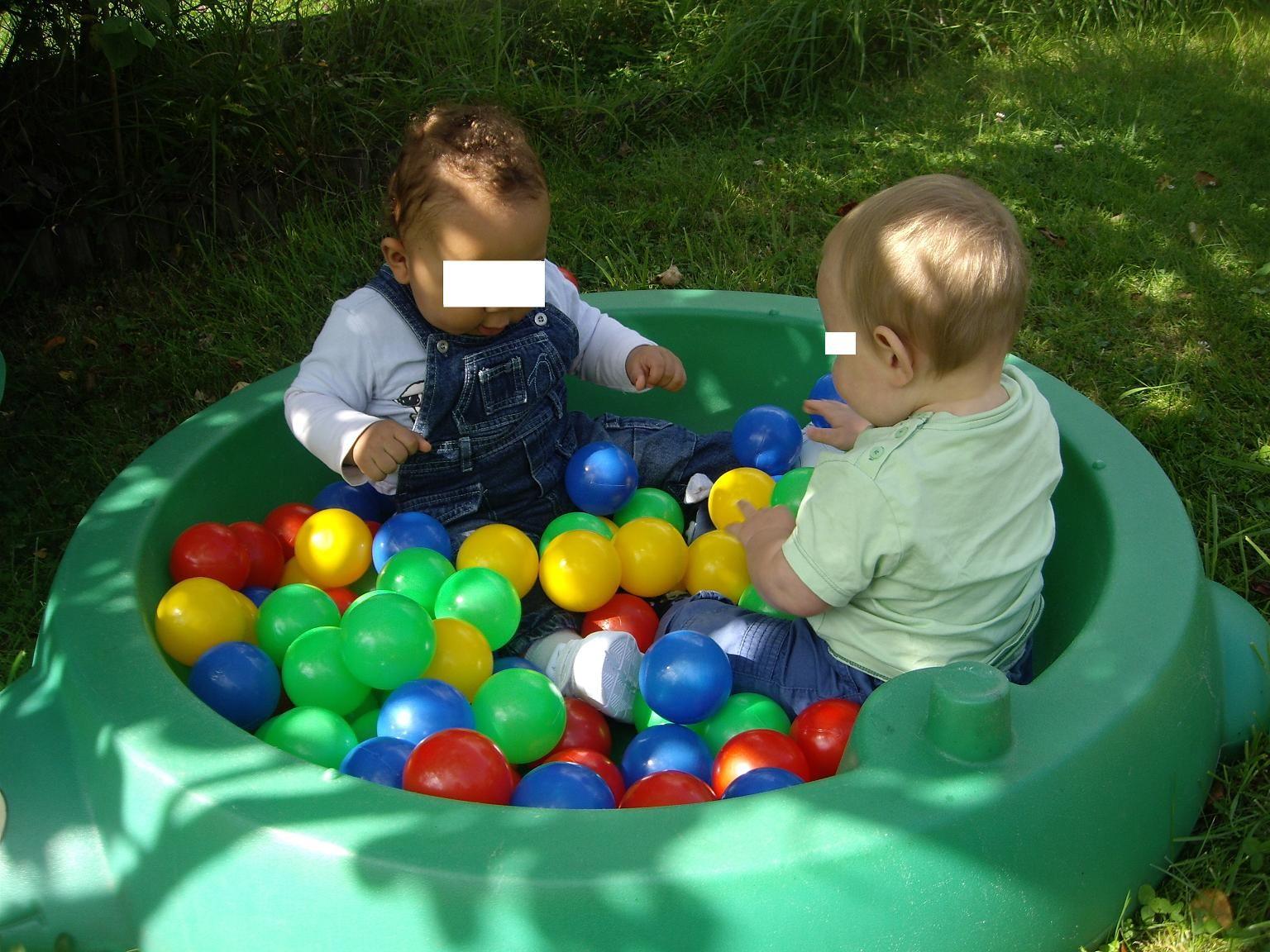 Piscine balles for Piscine a balle bebe