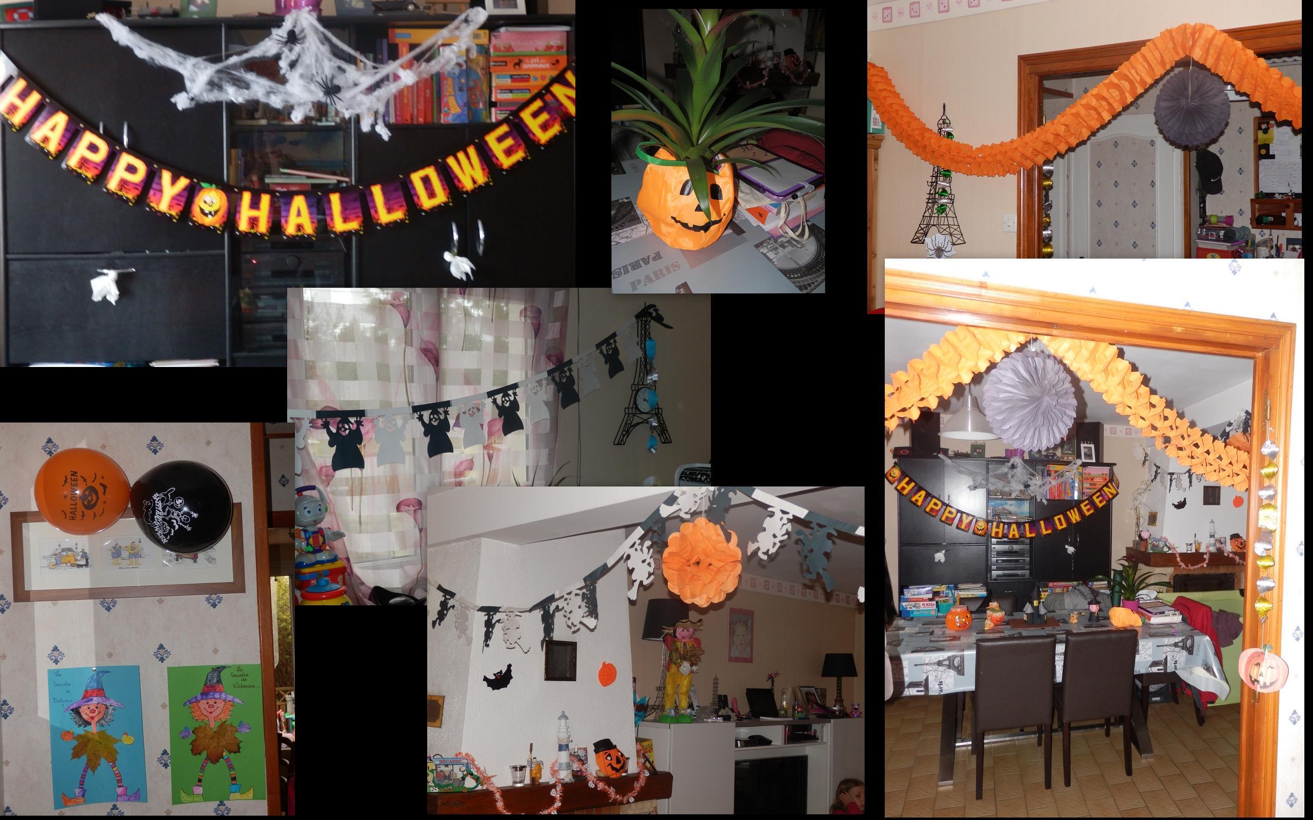 D co int rieur halloween for Decoration interieur halloween